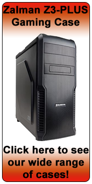 Zalman Z3 Plus Black Tower Case (ATX/M-ATX)