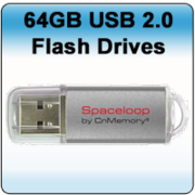 CnMemory 64GB SPACELOOP XL SILVER USB2.0