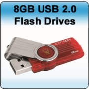 Kingston DataTraveler 101 G2 8GB USB Flash Drive