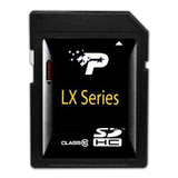 Patriot Secure Digital Card LX Class 10 - 8GB