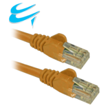 0.5M RJ45 Cat5e UTP Stranded snagless Network Cable YELLOW
