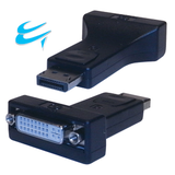 DVI-I Dual Link Digital and Analogue Female to Displayport Male