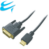 DVI-D Single Link Digital Male to HDMI Male 2M Cable