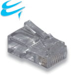 RJ45 Cat5e 50 micron Crimp ends connector