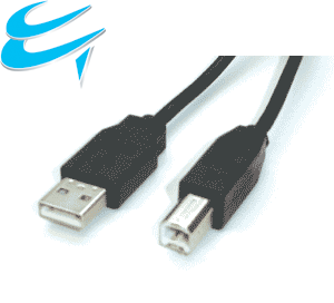 2M USB 2 Connection cable - A Male to B Male Printer etc(Black)