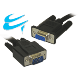 5M VGA extension cable HD15M Male To HD15F Female Double Shielded Fully Wired