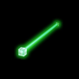 Cold Cathode Tube - Green