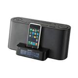 Am/Fm Radio With iPod Dock And Auto Set Alarm Clock