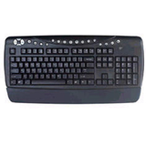 PS2 Office Keyboard - Black