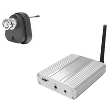Wireless Security Conversion Kit For BNC Cameras Upto 100M Range With Microphone - 1 Transmitter And 1 Receiver See Wt-410T And Wr-734 For Additional Units