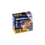 CD-R 210MB 8cm 10 Pack In Slimline Jewel Cases