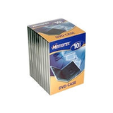 Dvd Case/Black Movie Case 10Pk