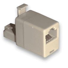 RJ45 Male To Female Crossover Cable Convertor