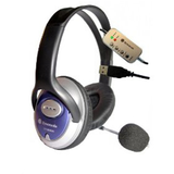 Stereo Headphones With Mic