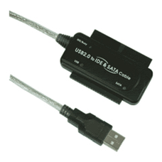 USB To IDE And SATA And 2.5 IDE Conversion Cable With Power Adapter Magic Cable