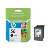 HP 56 Ink Cartridge Black 450Sheets For Inkjet
