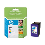 Ink Cartridge 3C125Sheets P100 HP 57