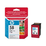 HP 58 3Colour Ink Cart For The Inkjet