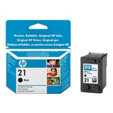 HP Ink Cart 21/Black Small 5ml 1Pk No. 21
