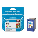 HP Ink Cart 22/3C Small 5ml 1Pk No. 22