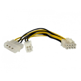 Molex + 4-pin ATX12V Motherboard Power to 8-pin EPS connection