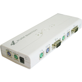 Auto Kvm Switch - 4 Pcs To 1 Pc