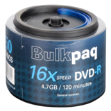 Bulk DVD-R 16X 4.7GB Spindle 50 Pack