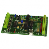 USB Experiment Interface Board Kit with DLL for custom software development. Please note: This product is in kit form and requires soldering.