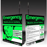 Emergency Mobile Disposable Phone Charger Gives 90Min Talk And 480Min Standby - Sony Ericcson Phone