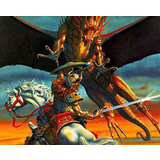 High Quality Dungeons And Dragons Mouse Mat