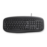 PS2 Value Keyboard - Black
