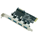 Generic USB 3.0 PCI Express Card 4 Port