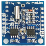 DS1307 Tiny RTC - Real time clock breakout board