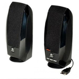 Logitech S150 Stereo Speakers - 1.2W RMS Black USB Connection With Travel Bag