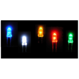 3mm LEDs - Super Bright - Blue, Green, Orange, Red, Yellow, White, Diffused White, Warm White - Various Pack Sizes Available to save you money !