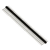 "0.1"" (2.54mm) Straight Header Pins - strips of 40"