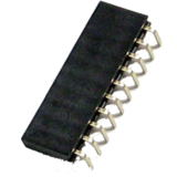 "0.1"" (2.54mm) Right Angle Header Sockets - strips of 40"