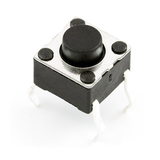 Tactile Switch - 6x6mm, 3.5mm button