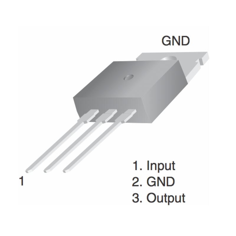 Stak 7800 Series Linear Voltage Regulators 1 5a