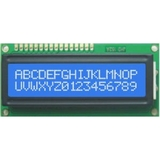 HD44780 Alphanumeric LCDs - 2x16 - Blue backlight, White pixels