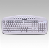 Unotron SpillSeal Keyboard - USB and PS/2 - Grey