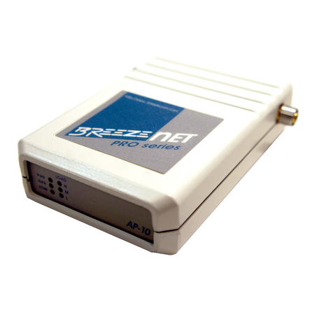BreezeNET SA-10D PRO Wireless Access Point for use with External Antennas