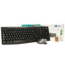 Logitech MK270 Wireless Desktop Kit Keyboard and Mouse - USB