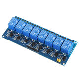 5V DC Relay Modules - switch up to 230V AC or 30V DC - 1, 2, 4 and 8 way