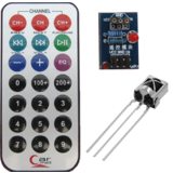 Infrared Remote Control module Kit HX1838 NEC Code VS1838B Receiver