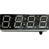 DS1302 Clock and Temperature Module - Red LED Display with battery backup
