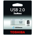 Toshiba Memory 8GB USB Flash Drive - USB 2.0 (Stak: 13, Supplier: 335)
