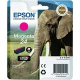 Genuine Epson Elephant (24) Ink Cartridge - Magenta
