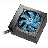 ALPINE 600W PSU Silent (12cm Blue Fan, Black case, 20 / 24 pin, 2 x SATA, 1 x FDD, 3 x 4-pin molex)