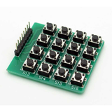 Matrix Keypad - 16 Tactile Switches